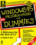 Windows 95 Programming for Dummies 9781568843278