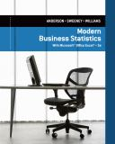 Modern Business Statistics with Microsoft® Excel® 5th Edition