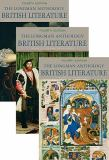 The Longman Anthology of British Literature, Volumes 1A, 1B, And 1C 9780205693337