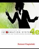 Introduction to Information Systems 9781118063347