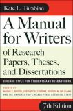 A Manual for Writers of Research Papers, Theses, and Dissertations 9780226823379