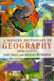 A Modern Dictionary of Geography 9780340603390