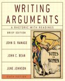 Writing Arguments 9780321163417