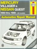 Haynes Mercury Villager and Nissan Quest 9781563923432