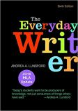 The Everyday Writer with 2016 MLA Update 6th Edition