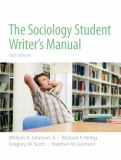 The Sociology Student Writer's Manual 9780205723454