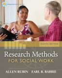 Research Methods for Social Work 8th Edition