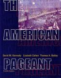 The American Pageant 9780618103492
