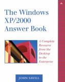 The Windows XP/2000 Answer Book 9780321113573
