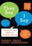 They Say / I Say 2nd Edition