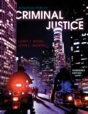 Introduction to Criminal Justice 9780495913641
