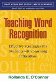 Teaching Word Recognition 9781593853655