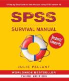 SPSS Survival Manual 3rd Edition