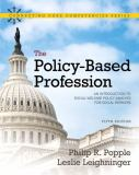 The Policy-Based Profession 9780205763719
