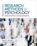 Research Methods in Psychology 2nd Edition