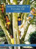 Behavior Principles in Everyday Life 4th Edition