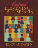 The Essential Elements of Public Speaking 2nd Edition