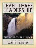Level Three Leadership 4th Edition
