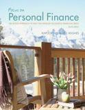 Focus on Personal Finance with Connect Plus 4th Edition