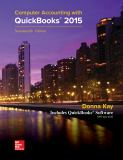 Computer Accounting with Quickbooks 2015 17th Edition
