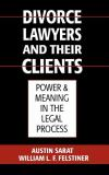 Divorce Lawyers and Their Clients 9780195063875