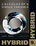 Single Variable Calculus, Hybrid 9th Edition
