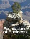 Foundations of Business 4th Edition