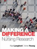 Making a Difference with Nursing Research