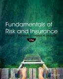 Fundamentals of Risk and Insurance 9781118534007