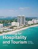 Marketing for Hospitality and Tourism (6th Edition) 6th Edition