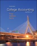 College Accounting Chapters -13 with Connect Plus 9780077504038