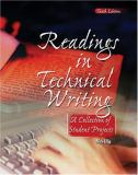 Readings in Technical Writing 9780757544057