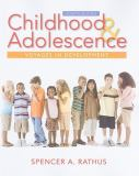 Childhood and Adolescence 9780495904083