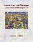 Transactions and Strategies 9780324314137
