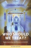 Who Should We Treat? 9780199264186