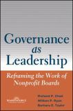 Governance As Leadership 9780471684206