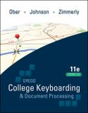 Gregg College Keyboarding & Document Processing; Lessons 1-20 text 9780077344221