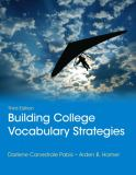 Building College Vocabulary Strategies 3rd Edition