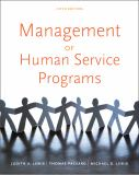 Management of Human Service Programs 5th Edition
