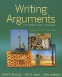Writing Arguments 9780321964281