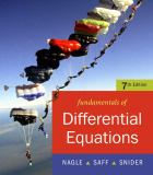 Fundamentals of Differential Equations 7th Edition
