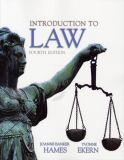 Introduction to Law 9780135024348