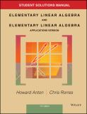 Elementary Linear Algebra with Applications 11th Edition