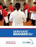 ServSafe Manager Revised with Answer Sheet Plus MyServSafeLab with Pearson EText--Access Card Package 6th Edition
