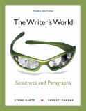 The Writer's World 3rd Edition
