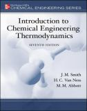 Introduction to Chemical Engineering Thermodynamics (The Mcgraw-Hill Chemical Engineering Series) 9780073104454