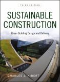 Sustainable Construction 3rd Edition