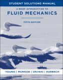 A Brief Introduction to Fluid Mechanics 5th Edition