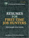 Resumes for First-Time Job Hunters 9780658004544