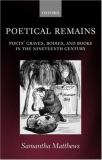 Poetical Remains 9780199254637